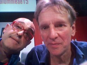 Selfie con Barlow