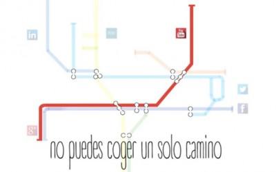 Estrategia en la red para no viajar solo