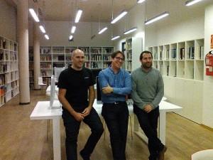 Tres emprendedores natos